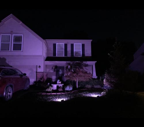 RGB LED Flood Lights photo review