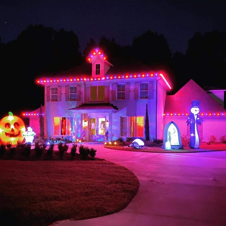 halloween-back-yard-lighting