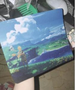 Genshin Impact Mouse Mat Pad photo review