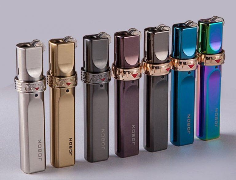 JOBON-Stripe-Gas-Torch-Lighter-Jet-Windproof-Metal-lighter-Stripe-Flint-Lighter-1300-C-Butane-Cigar-1