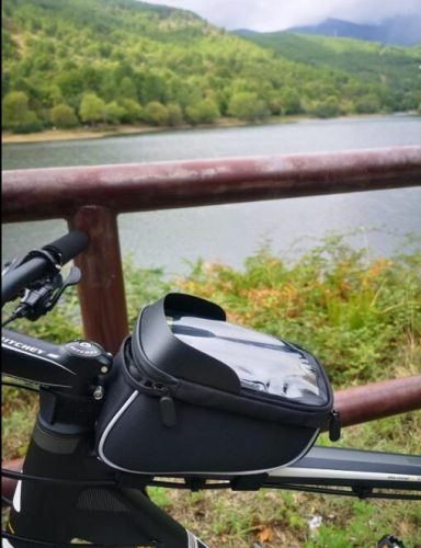 Bike Phone Front Frame Bag With Repair Tool Kit photo review